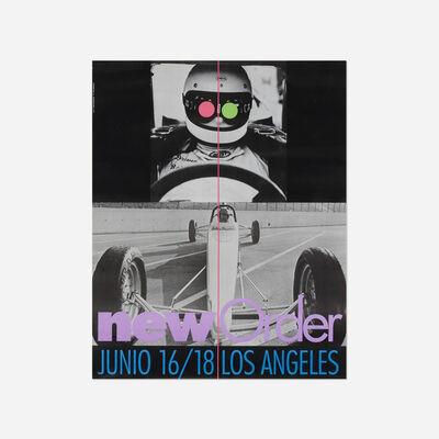 John Baldessari, 'New Order poster', 1987