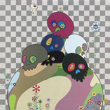 Takashi Murakami, 'Skull Rock', 2004