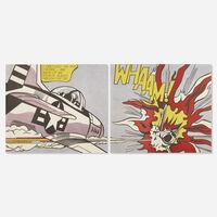 Roy Lichtenstein, 'Whaam! (diptych)', 1967