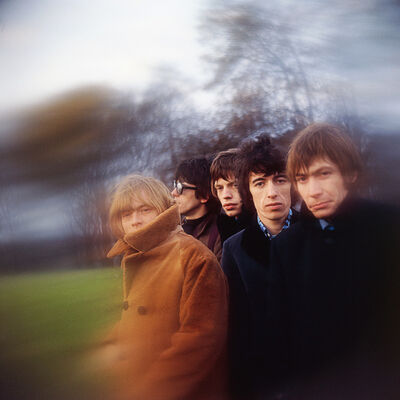 Gered Mankowitz, 'The Rolling Stones, 1966 - Primrose Hill Beyond the Buttons', 1966