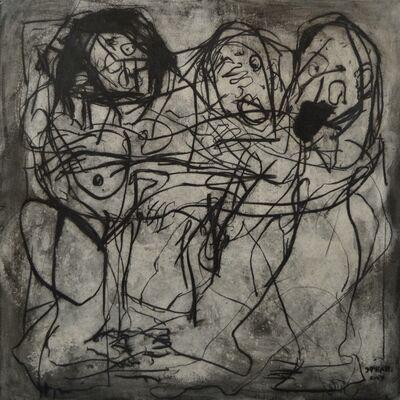 Alaa Sharabi, 'Fighting', 2017