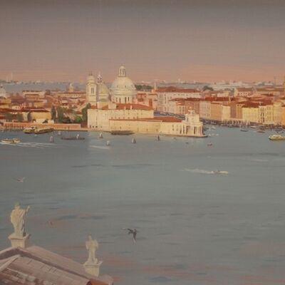 """Brad Aldridge, '""""Venice (view from Campanile di San Giorgio Maggiore)""""', 2018"""