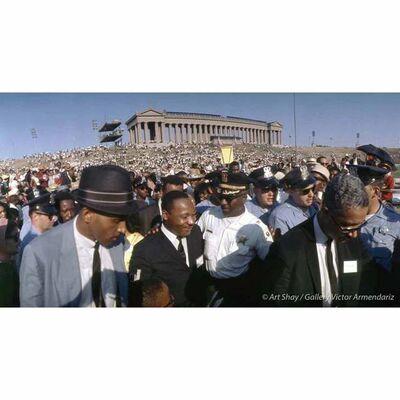 Art Shay, 'MLK at Chicago Freedom Rally, 1966', 2017