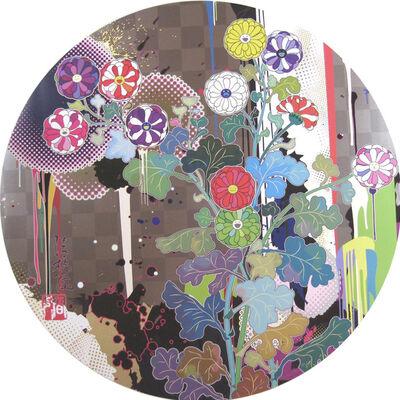 Takashi Murakami, 'With Reverence, I Lay Myself Before You–Korin–Chrysanthemum', 2010