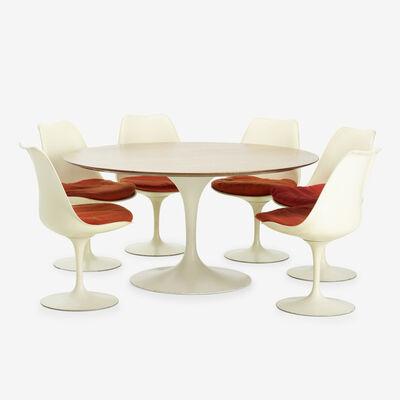 Eero Saarinen, 'dining set', 1956-57