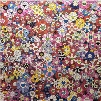 Takashi Murakami, 'Shangri-la Pink', 2016