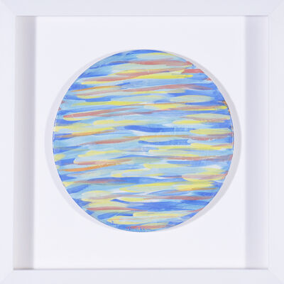 Iris Eshet Cohen, 'Painted Ceramic Plate', 2016