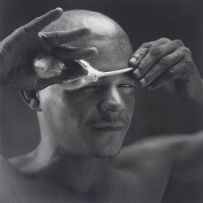 Mario Cravo Neto, 'Tinho with rat', 1990