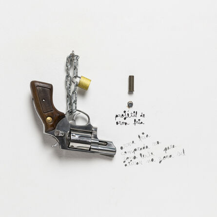 Lourival Cuquinha, 'Projétil de interzona', 2017
