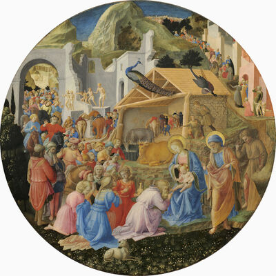 Fra Angelico and Fra Filippo Lippi, 'The Adoration of the Magi', ca. 1440/1460