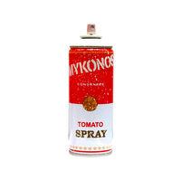 Mr. Brainwash, 'Mykonos White Tomato Spray', 2019