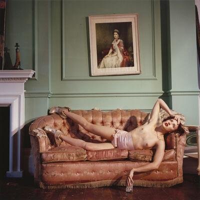 Bettina Rheims, 'Georgie Bee Wearing her own Amazing Shoes', 2013