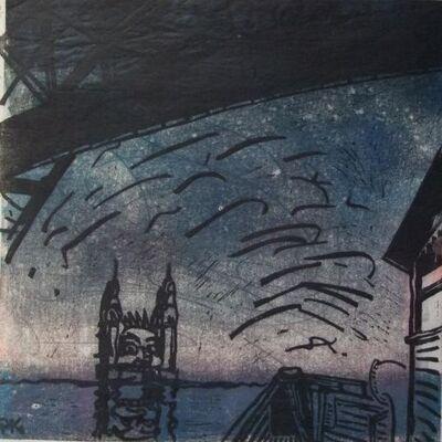 Peter Kingston, 'Untitled (Luna Park)', 2003