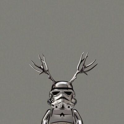 Dale May, 'Chrome Deer Trooper', 2011