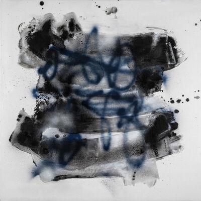 "Kymm Swank, '""Wet Abstraction #7"" - Acrylic, Flashe, Spray Paint on Canvas ', 2020"