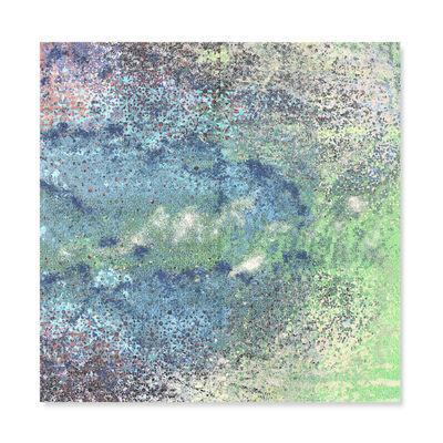 Yasmina Alaoui, 'Green Blue Square #1', 2017