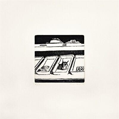 Wayne Thiebaud, 'Delicatessen Trays', 1965