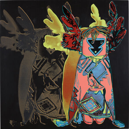 Andy Warhol, 'Kachina Doll, from Cowboys and Indians', 1986