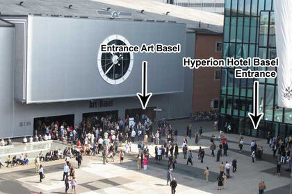 Hyperion Basel during Art Basel, Basel Switzerland