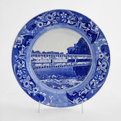 Paul Scott, 'Cumbrian Blue(s), New American Scenery, Belle Island Bridge, Detroit.', 2019
