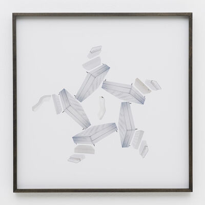 Haegue Yang, 'Hardware Store Collage– BHV Mattresses # 2', 2013