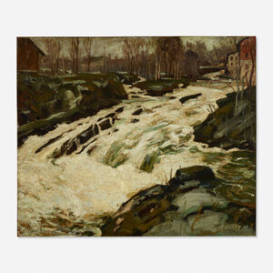 Jonas Lie, 'Rapids'