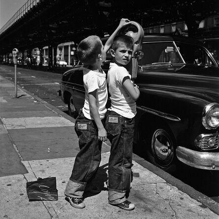 Vivian Maier, 'w0048-02 , 1954, 2 Matching Boy', 2015