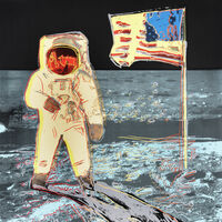 Andy Warhol, 'Moonwalk 404 Yellow', 1987