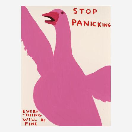 David Shrigley, 'Stop Panicking', 2021
