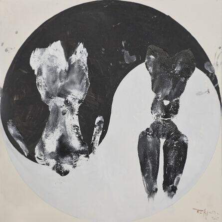 Huang Rui 黄锐, 'Black and White Cats No.4', 2015