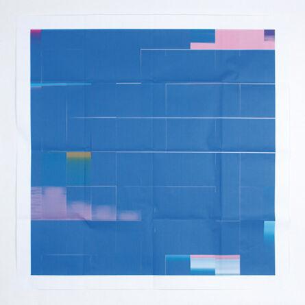 Juan Carlos Bracho, 'Azul de Siempre', 2013