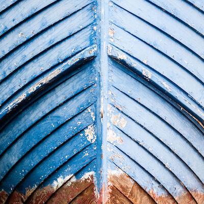 "Michele Dragonetti, 'Untitled (""Blue Wood"")', 2015-printed/mounted 2016"