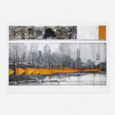 Christo, 'The Gates, from the Project for Central Park, New York City', c. 2004