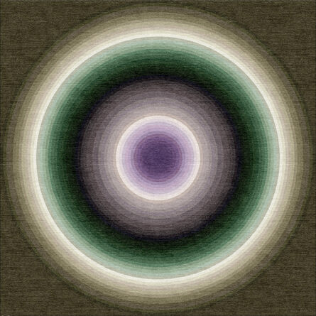 Yan Lei, 'Color Wheel Rug/Tapestry (TJ6024)'