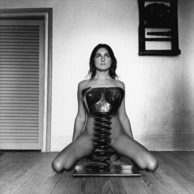 Liliana Maresca, '¨Untitled. Liliana Maresca with her artworks¨', 1983