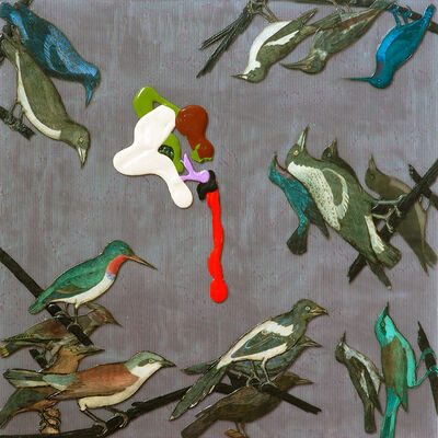 Barbara Strasen, 'Birds Four Sides', 2006