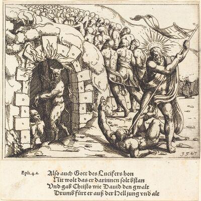 Augustin Hirschvogel, 'The Harrowing of Hell', 1547