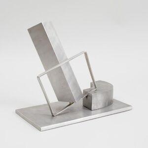 Menashe Kadishman, '1969 Israeli Abstract Sculpture Stainless Steel Menashe Kadishman Suspension', 1960-1969