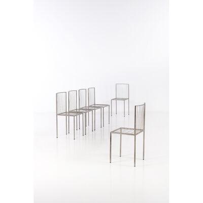 Philolaos Tloupas, 'Set of six chairs', 1961