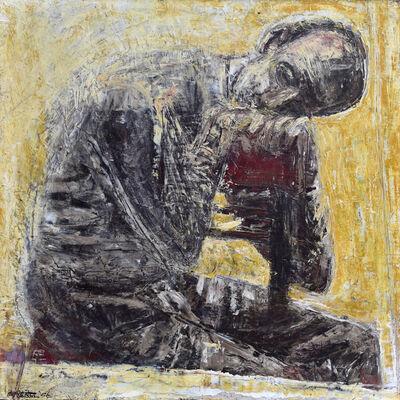 Roland Petersen, 'Resting Figure', 1956
