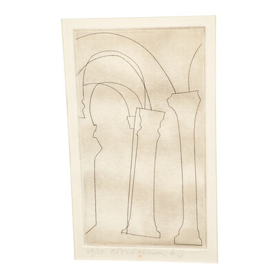 Ben Nicholson, 'Tuscan Pillars', 1966