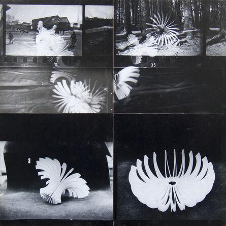 Laurențiu Ruță-Fulger, 'The stroboscopic perception of the transformable Sphere ', 1980