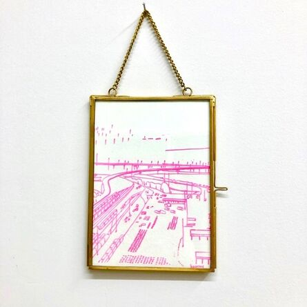 Kate Hooray Osmond, 'Small Industrial Study in Pink'