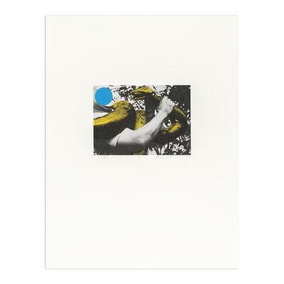 John Baldessari, 'Man with Snake (Blue and Yellow)', 1990