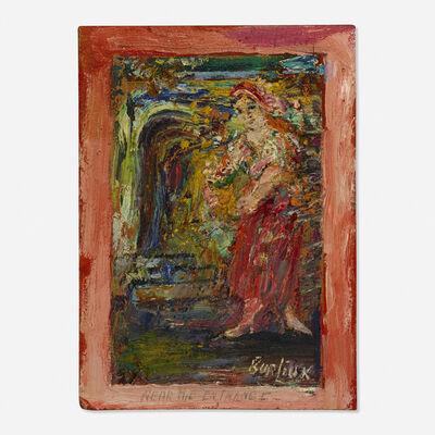 David Burliuk, 'Near the Entrance'