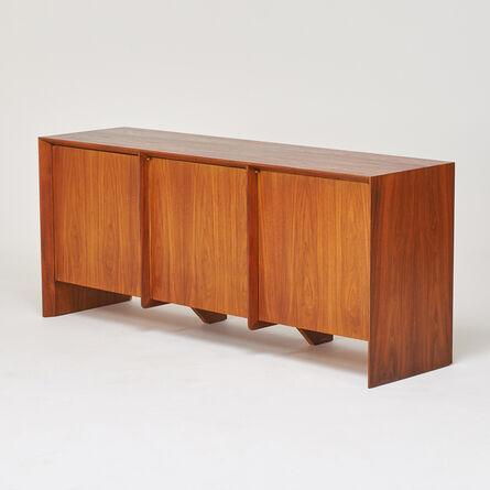 T.H. Robsjohn-Gibbings, 'Three-door cabinet', 1960s