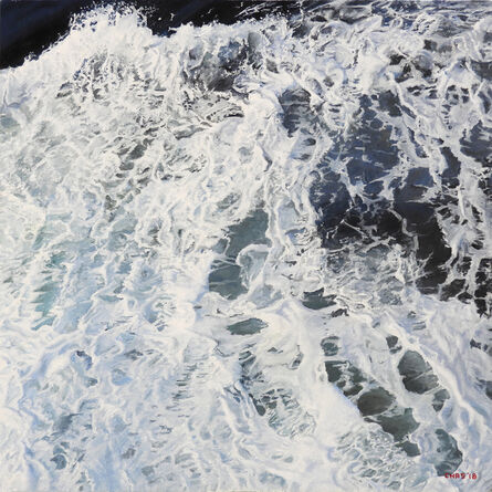 Charles Hartley, 'Foam on the Drake Passage', 2018