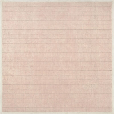 Agnes Martin, 'Flower in the Wind', 1963