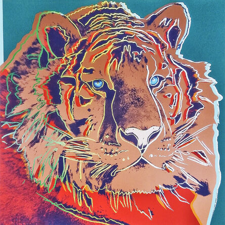 Andy Warhol, 'Siberian Tiger, from Endangered Species', 1983