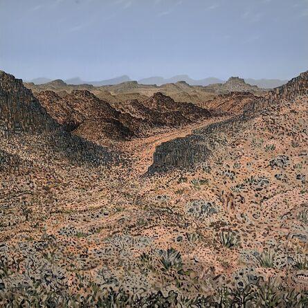 Bruce Backhouse, 'Climbing Kompasberg', 2016